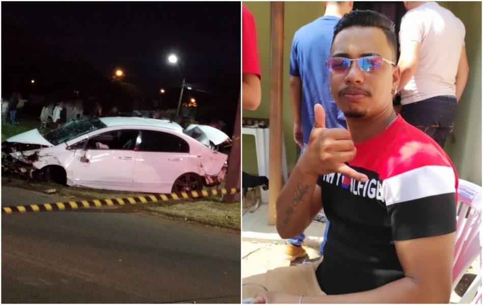 Jovem perde controle na BR-369 e morre após ser ejetado do veículo, em Rolândia