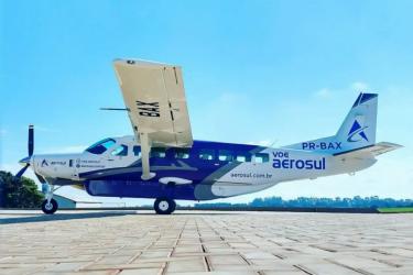 Conheça mais sobre a Aerosul e seus novos voos entre Londrina, Curitiba e Florianópolis
