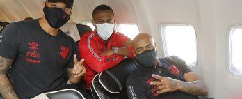Athletico embarca para Goiânia com 23 jogadores. Confira os relacionados