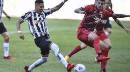 Athletico não faz boa partida, e acaba derrotado pelo Atlético-MG por 2 a 0