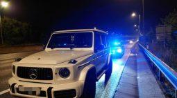 """""""Precisava ir ao banheiro"""", justificou motorista flagrada dirigindo a 180 km/h"""