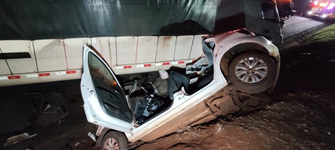 Caminhoneiro bêbado mata cinco pessoas em acidente no oeste do PR