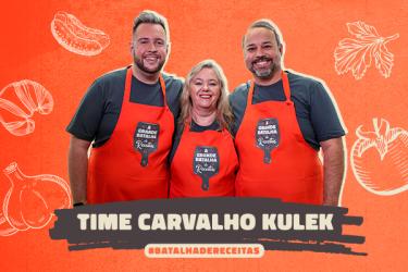Para bem-humorada equipe Kulek, comida é coisa séria