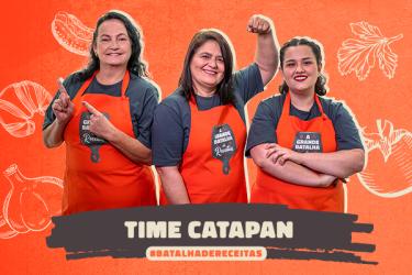 Time Catapan: três mulheres apaixonadas pela cozinha