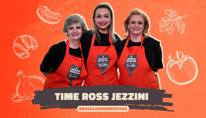 Time Ross Jezzini se prepara para levar receitas de casa para a TV em novo reality