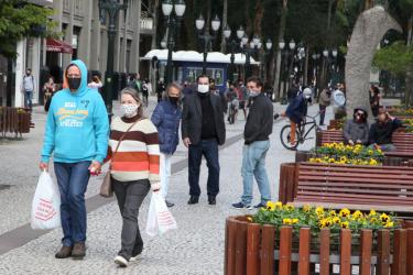 Curitiba registra mais 5 mortes e 108 casos de Covid-19