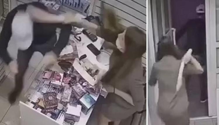 Ladrão apanha com genitália de plástico ao tentar assaltar sex shop; assista
