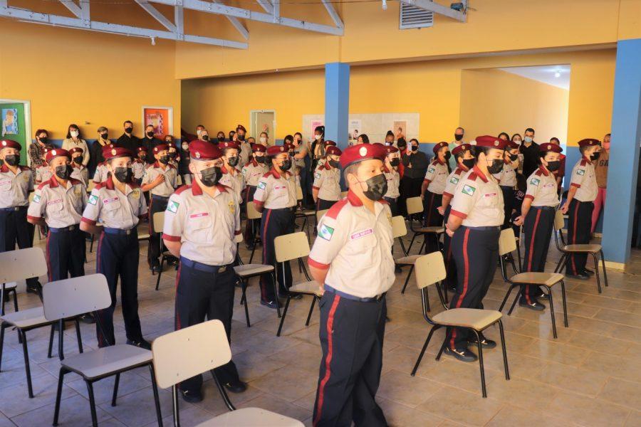 Escola municipal de Arapongas é a primeira do Paraná a implementar o ensino cívico-militar