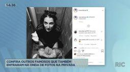 Luísa Sonza posta foto sentada em vaso sanitário e divide opiniões na web