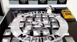 Motoboy do tráfico: homem entregava droga com mochila de aplicativo e aceitava cartão em Maringá