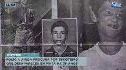 Polícia ainda procura por escoteiro que desapareceu em mata há 36 anos