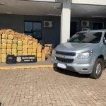 PF e PM apreendem mais de 1.200 kg de maconha no Paraná