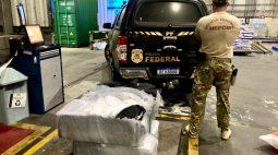 PF apreende 278 kg de cocaína no Porto de Paranaguá