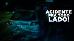 Acidentes deixam 4 feridos em Londrina na PR-444, 2 mortos em colisão frontal