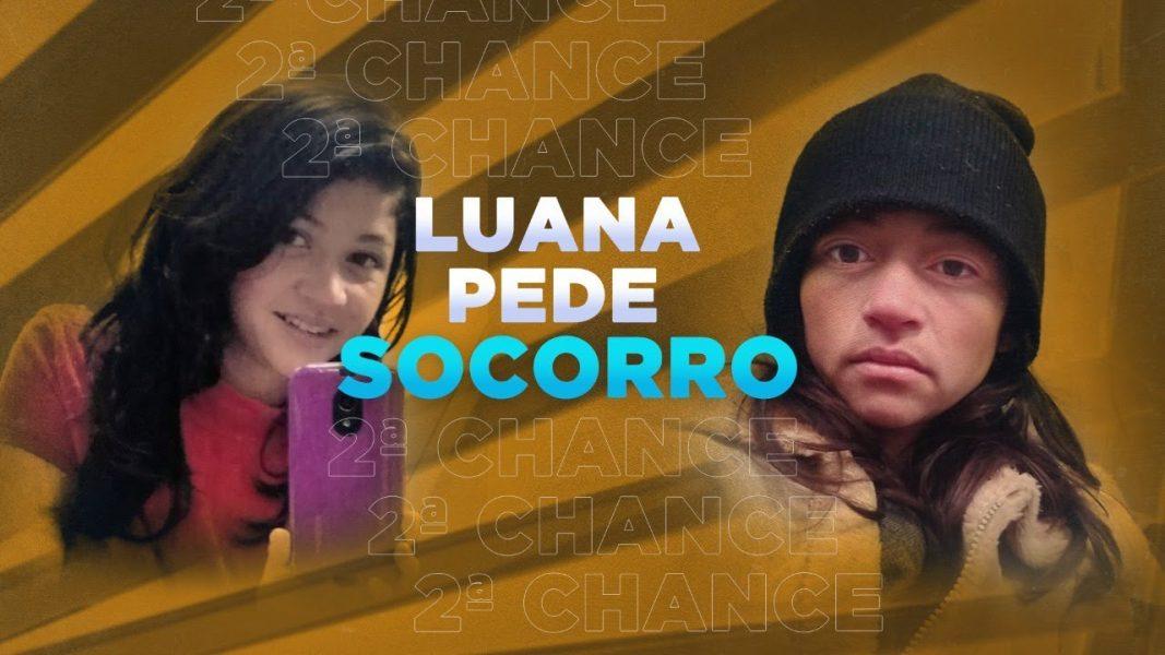 Luana procurou o Balanço Geral pedindo socorro para largar as drogas e cuidar do filho de seis anos