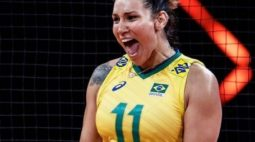Tandara, da seleção feminina de vôlei, é suspensa por doping