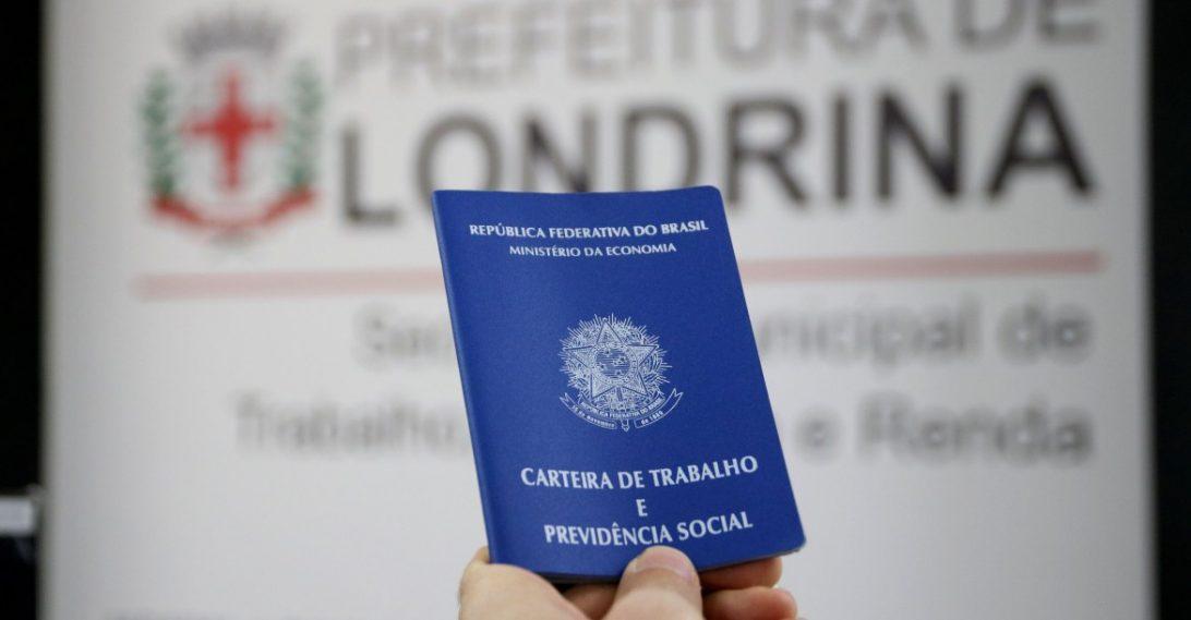 Londrina já gerou mais de cinco mil empregos ao longo de 2021