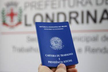 Londrina tem 367 vagas de emprego abertas em mais de 100 funções diferentes