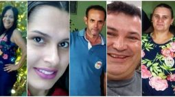 Velório das cinco vítimas fatais de acidente na PR-317 acontece durante esta tarde