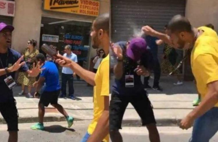 Jogador de vôlei Lucarelli dá garrafada em outro atleta brasileiro; veja vídeo