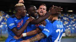 Napoli estreia na fase de grupos da Liga Europa diante do Leicester