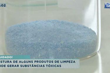 Mistura de alguns produtos de limpeza pode gerar substâncias tóxicas