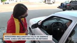Pontos de Maringá estão a mais de 48 horas sem energia elétrica