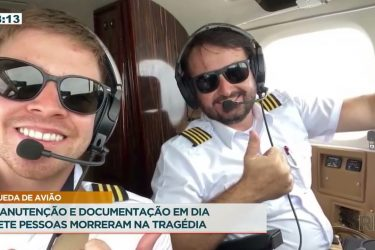 Vídeo mostra a queda do avião que matou 7 pessoas em Piracicaba