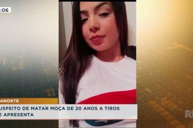 Suspeito de matar moça de 20 anos a tiros durante uma briga se apresenta em delegacia de Cianorte