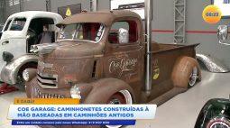 Na Coe Garage caminhonetes são construídas à mão baseadas em caminhões antigos