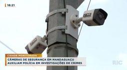 Câmeras de segurança em Mandaguaçu auxiliam Polícia em investigações de crimes