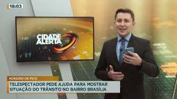 Telespectador pede ajuda para mostrar situação do trânsito no Bairro Brasília