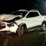 Passageira de carro morre em acidente na BR-369, no Oeste do Paraná