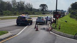 Ciclista morre atropelada por caminhão na BR-277