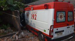 Ambulância envolvida em acidente durante perseguição em Cascavel pertence ao Samu, diz consórcio