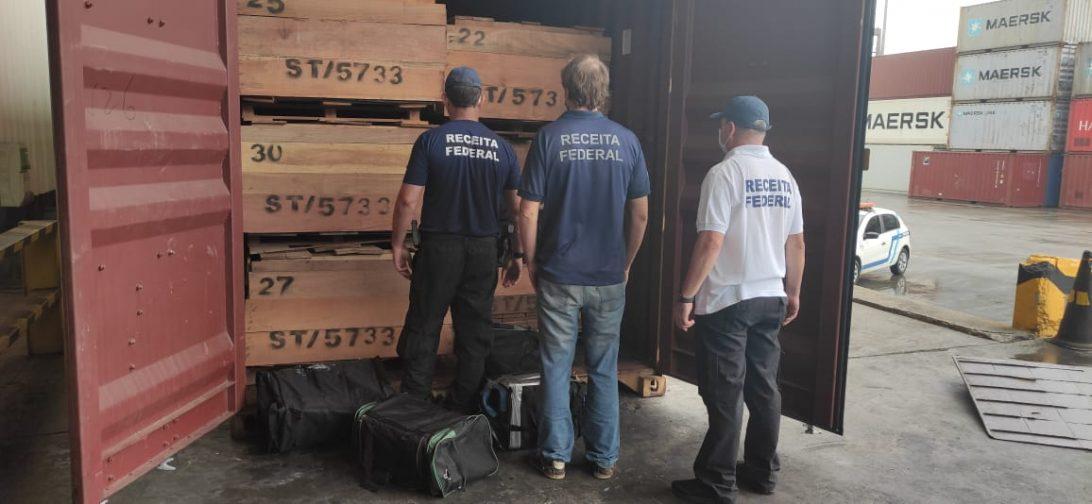 Receita Federal apreende quase 170 kg de cocaína no Porto de Paranaguá
