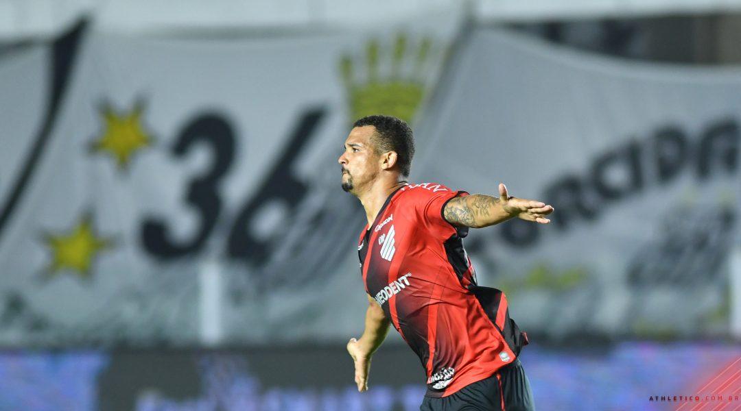 Athletico vence o Santos por 1 a 0 e garante a vaga nas semifinais da Copa do Brasil