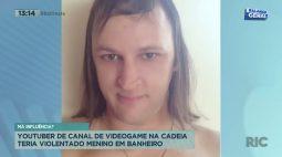 Youtuber de canal de vídeo game é suspeito de violentar menino de 12 anos em banheiro