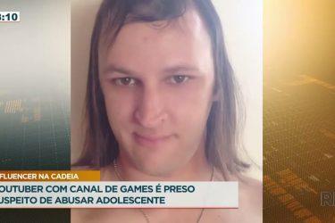 Youtuber com canal de games é preso suspeito de abusar adolescente
