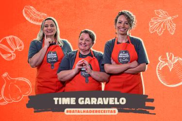 Três primas, aventuras e muita comida boa: conheça o time Garavello
