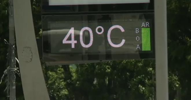 Paraná terá temperatura de 40°C nesta terça-feira (21); confira a previsão