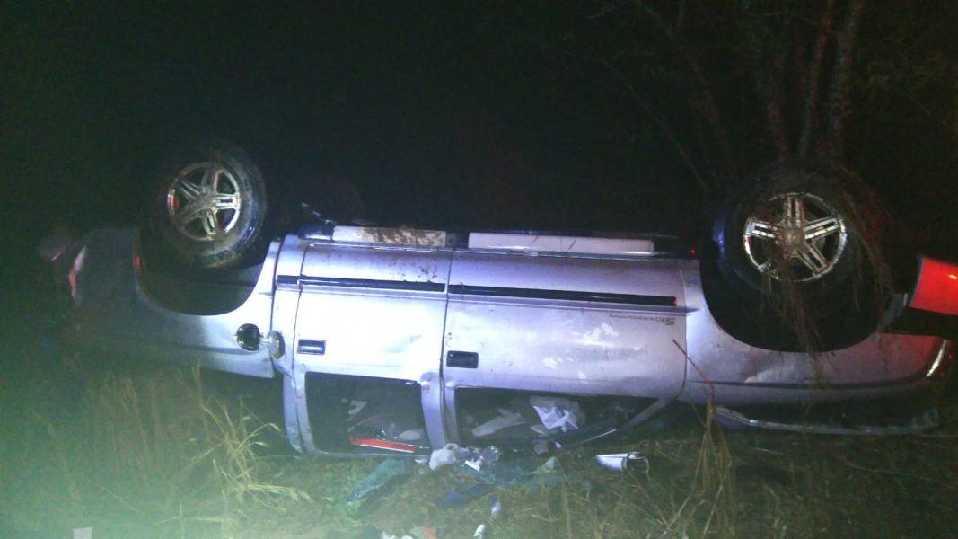 Jovem de 21 anos morre em capotamento na PR-090, entre Curiúva e Sapopema