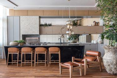 Churrasqueira Gourmet traz materiais naturais e mobiliário inédito na CasaCOR PR