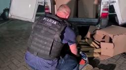 Polícia descobre esquema de depósito de drogas em estacionamentos e apreende quase 1,5 tonelada de maconha