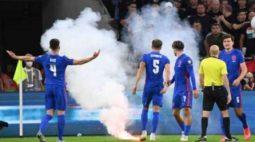 """Fifa pune Hungria por """"comportamento racista de vários torcedores"""" contra a Inglaterra"""