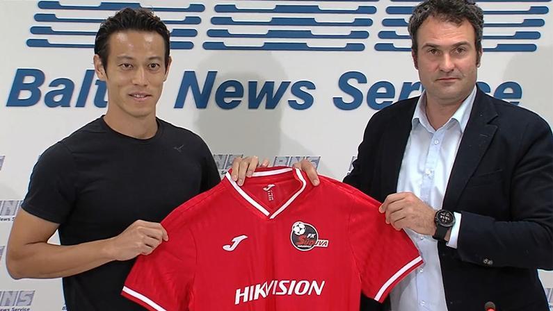 Ex-Botafogo, Honda é anunciado por clube da Lituânia