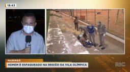 Homem é esfaqueado na região da Vila Olímpica