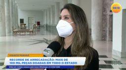 Campanha Aquece Paraná teve recorde de arrecadação e mais de 100 mil peças são doadas