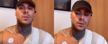 Léo Stronda sofre queimaduras de 2° grau após botijão de gás explodir