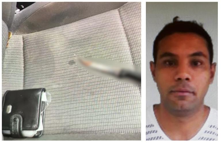 Homem mata esposa dentro de carro e fala para o filho que a mãe está dormindo no banco de trás
